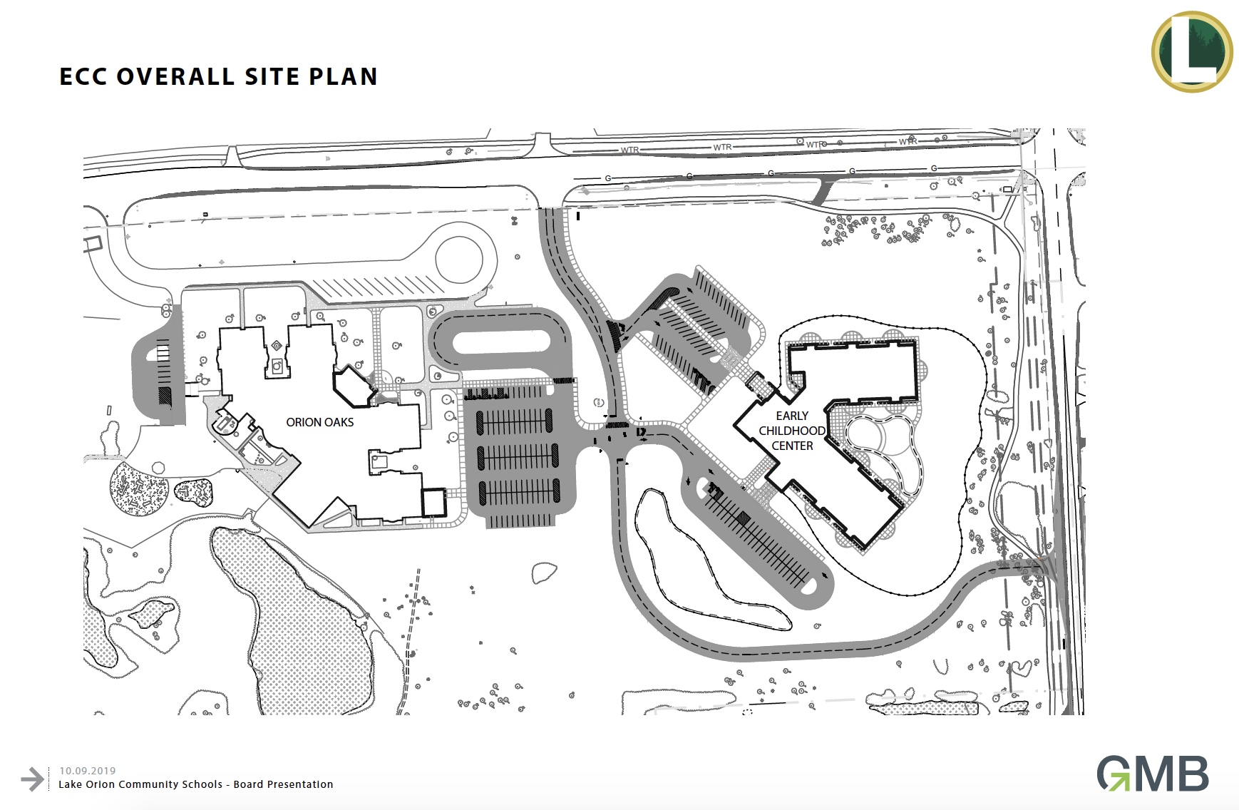 Early Childhood Center site plan
