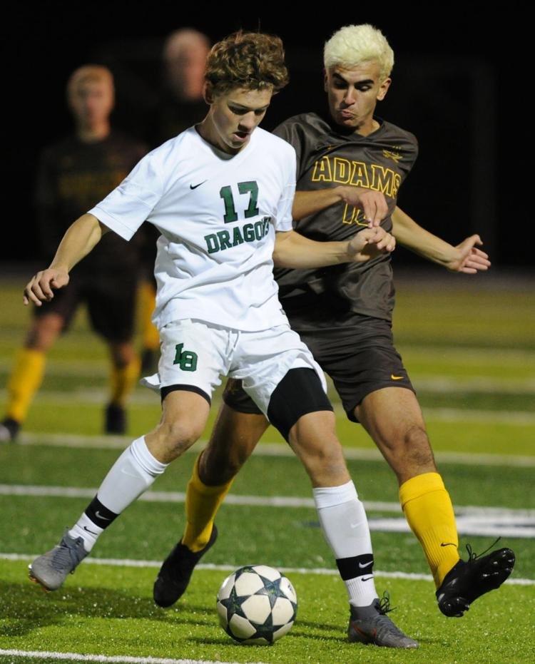 MHSAA Soccer District Finals  Adams 2  Lake Orion 1